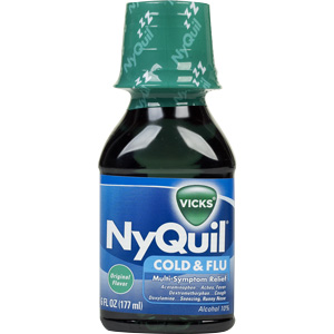 Nyquil...Bad!